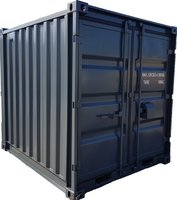 Lagercontainer 8' neu RAL 7016