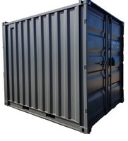 Lagercontainer 10' neu RAL 7016